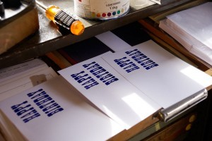 Letterpresses Happy Birthday Cards
