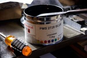 Pantone 2728 Offset Ink