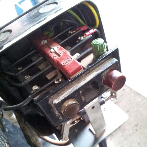 Old Starter switch