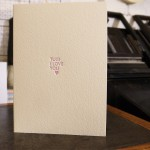 I LOVE YOU VALENTINES LETTERPRESS PRINT CARD 1